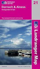 OS Landranger Map 21: Dornoch & Alness, Invergordon & Tain (9780319231098)