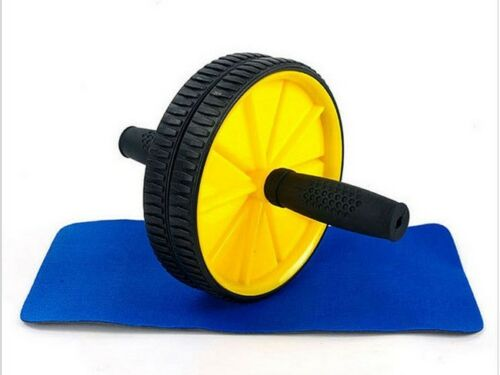 ABS Abdominal Exercise Wheel  Body Strength Training Roller Fitness Machine Gym