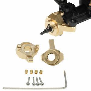 Für Axial SCX24 90081 1:24 RC Car Messing Gegengewicht Lenkbecher Steering Cup