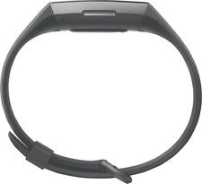 Artikelbild Fitbit Charge 3, schwarzes Armband Graphit-Grau Fitness Tracker NEU OVP