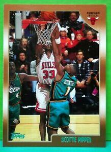 Scottie Pippen regular card 1998-99 Topps #1