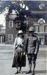 1918-Man-in-WW1-Style-Military-US-Army-Uniform-Bradford-Pennsylvania-Photo