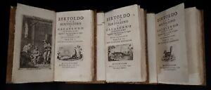 Croci: Bertoldo con Bertoldino e Cacasenno con traduzione in bolognese, 1740/41