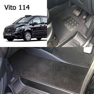 NEW Mercedes VITO 114 London Taxi Front CARPET Mats | eBay