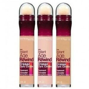 MAYBELLINE INSTANT AGE REWIND DARK CIRCLES TREATMENT CONCEALER NEW ...
