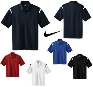 cba56d0c MEN'S NIKE SHOULDER STRIPE DRI FIT, WICKING, SHORT SLEEVE, GOLF POLO ...