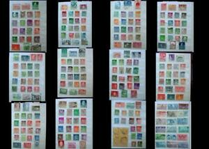 Stamp Collection Iceland Norway Sweden Denmark Finland & United States Free Post
