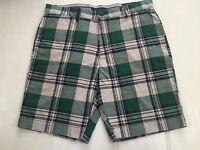 Tommy Hilfiger Men' Cotton Shorts Custom Fit Sz 34,36,38,40 &42