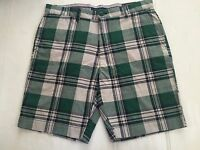 Tommy Hilfiger Men' Cotton Shorts Custom Fit Sz 34,36,38,40 &42