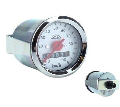 Simson Tachometer Ø48mm MMB weißes Ziffernblatt 100km//h KR51 SR4-2 SR4-3 SR4-4