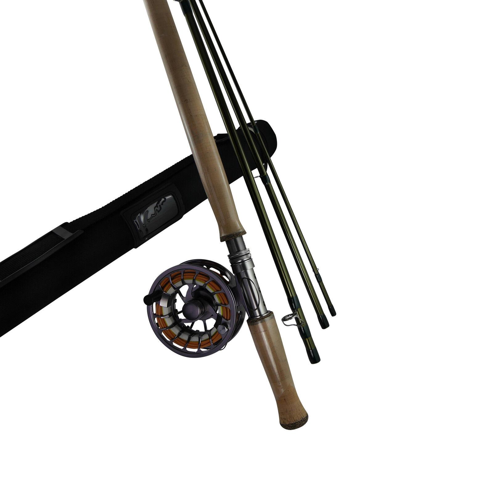 Zweihand Fliegenruten Set  Scandi Style , 14,8 Fuss   10 11