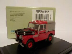Model-Car-Land-Rover-Fire-1-76-New