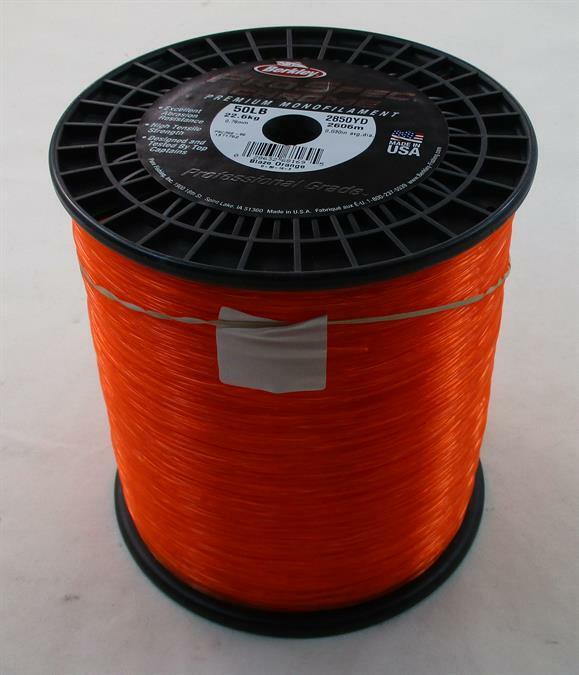Berkley 1371752 PSC350-BO Prospec Chrome Line 50 Lb Test orange 2850 Yds 22173