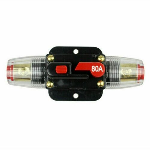 DC 20A-150A Car In-Line Quick Circuit Breaker Fuse Holder for System Protection