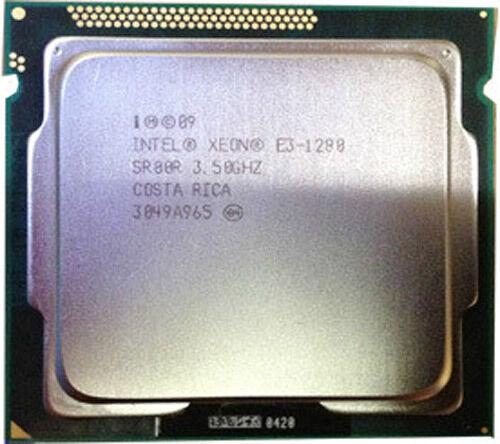 Intel Xeon E3-1280 CPU 3.5G Quad-Core 8 threads LGA1155 CPU Processor SR00R