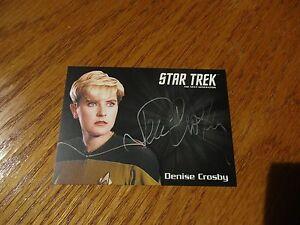 Star-Trek-TNG-Portfolio-Prints-Series-2-Denise-Crosby-as-Yar-Silver-Autograph