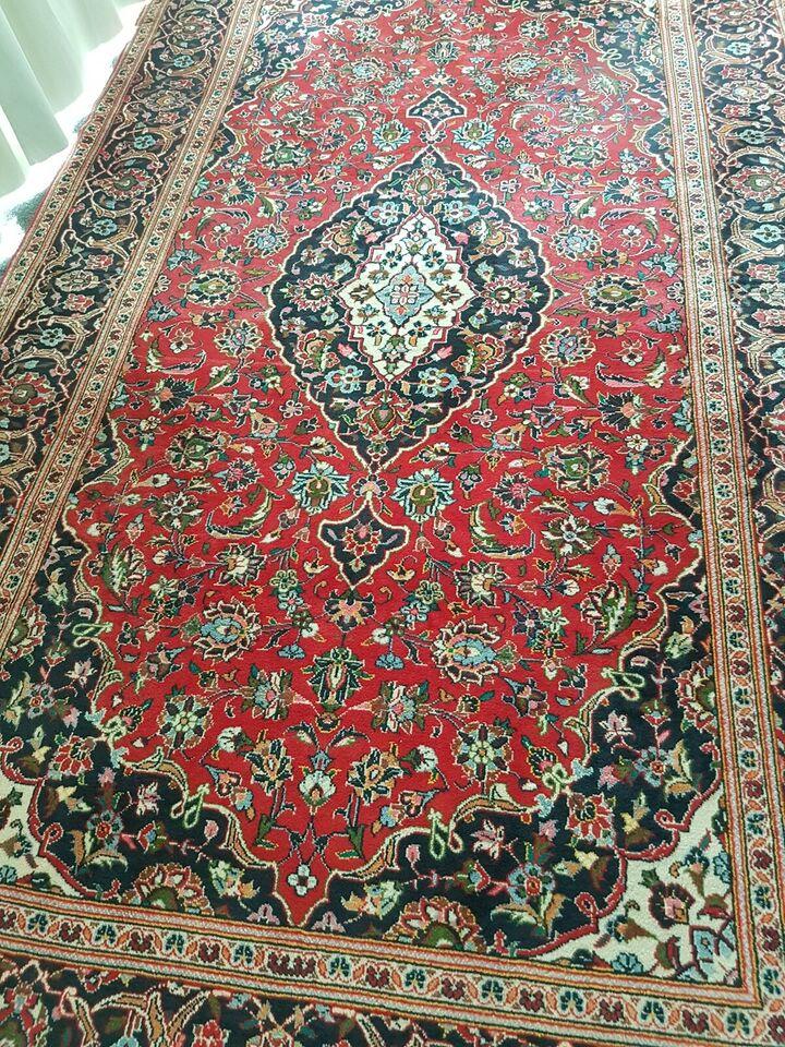 Gulvtæppe, ægte tæppe, Iraneske kashan