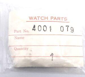 NOS-New-1-PC-Seiko-4001-079-Piece-Piece-4001079-de-Rechange-Vintage-Original