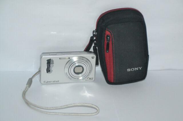 Digitalkamera Sony Cyber-shot DSC-W350 14,1 MP  Silber