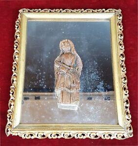 VIERGE-MARIE-AVEC-JESUS-SCULPTURE-SUR-BOIS-STYLE-COLONIAL-SIECLE-XVIII-XIX