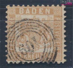 Baden-20ba-Pracht-geprueft-gestempelt-1864-Wappen-8100646