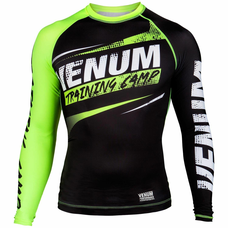 Venum Compression T-Shirt Training Camp UVP 54,98 black MMA Fitness Jogging
