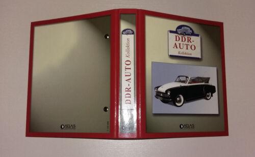 Atlas editorial RDA auto colección Hoja de datos carpeta sammelordner nuevo 156