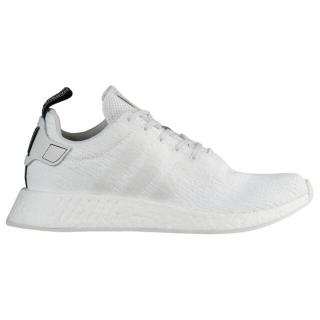 Mens ADIDAS NMD R2 White Running Trainers BY9914