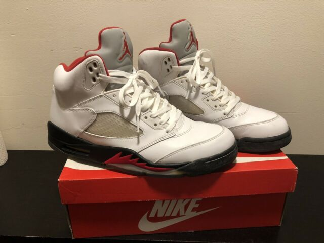 a739ce42f508 Air Retro Jordan 5 Size 11 Fire Red (2013 Release) for sale online ...