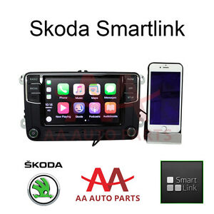Details about Skoda Android Auto Carplay Bluetooth Radio for Yeti Octavia  Superb Fabia