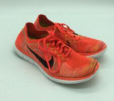 pretty nice 7fe49 305c4 Mens Nike 4.0 Flyknit Crimson Running Trainers 717075 600
