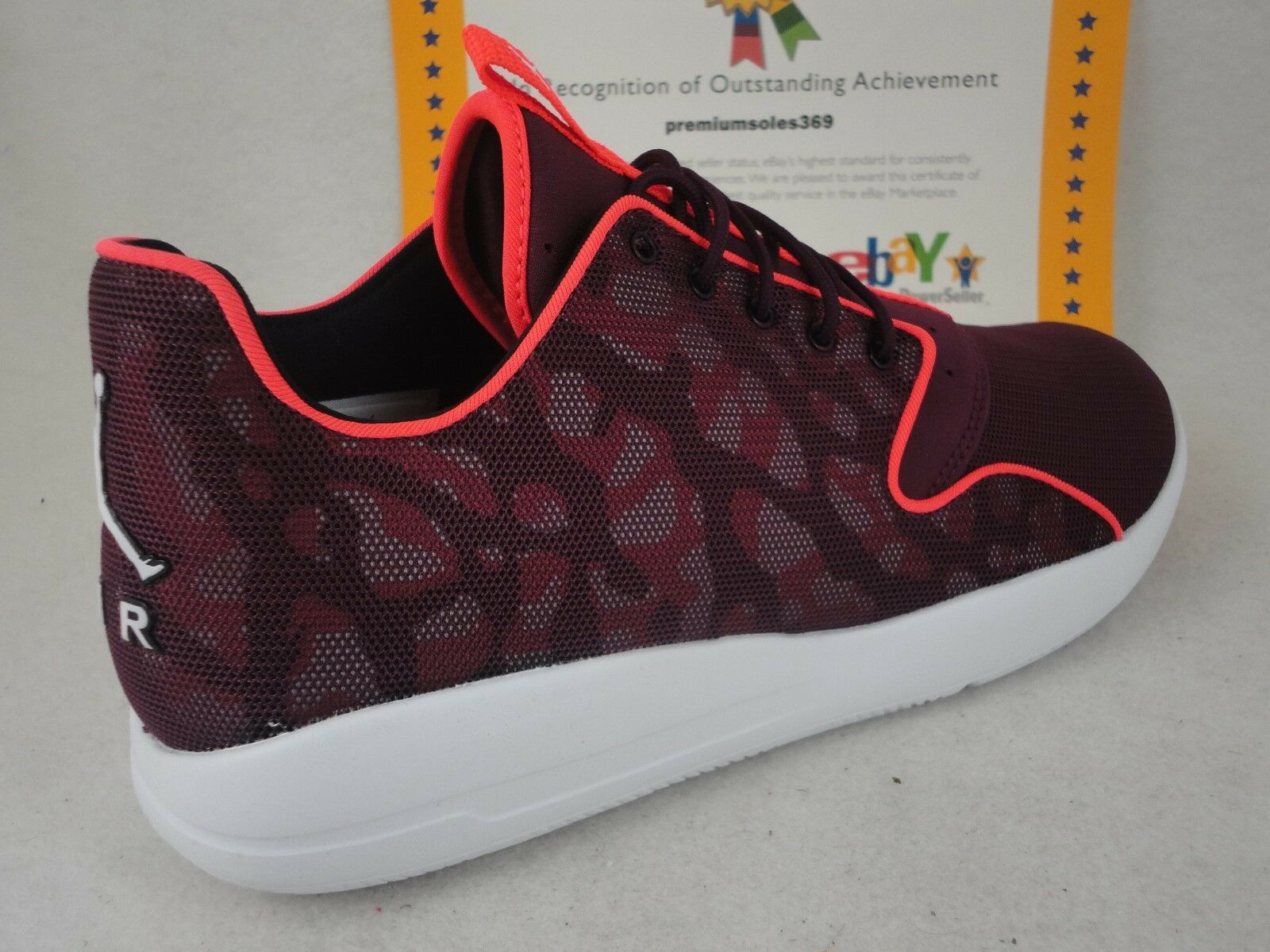 Nike Jordan Eclipse, Bordeaux   White   Infrared 23, Size 13
