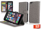 Wallet & Gel 4in1 Accessory Bundle Kit Case Cover For Apple iPhone 6 4.7