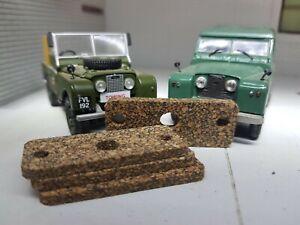 Lucas-FW2-Cwx-Essuie-Glace-Moteur-Liege-Pare-Brise-Joint-x4-Land-Rover-Serie-1