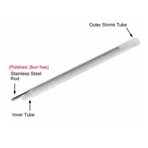 Pre-shrunk heat bonded Fiber Optic Fusion Splice Protection Sleeve 60mm 500PCS