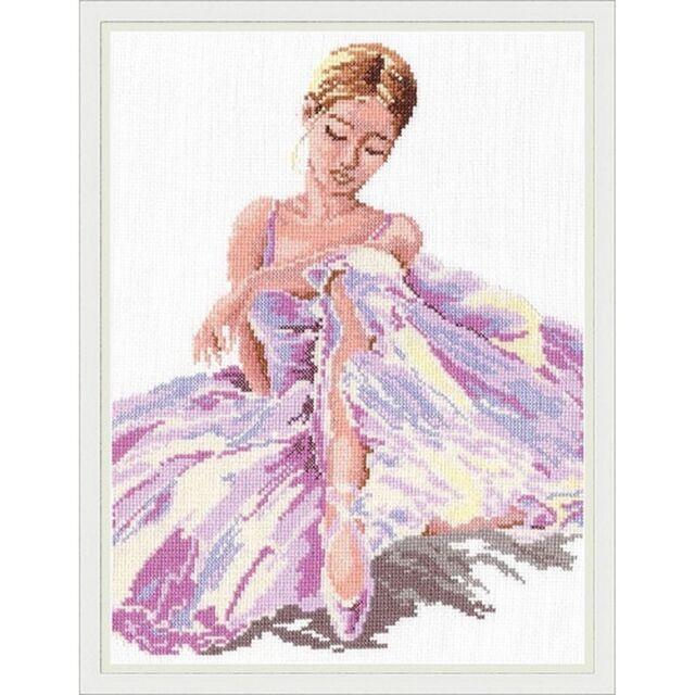 Magic needle 65-01 Ballerina Embroidery counted Aida 5.4