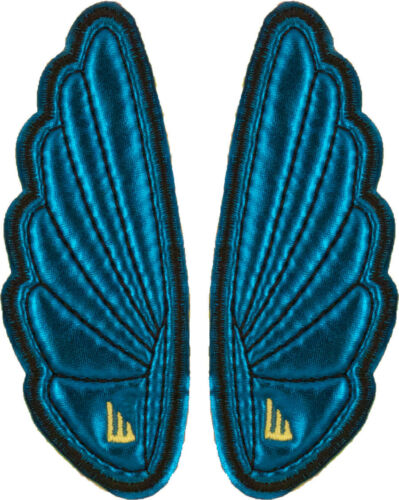 SHWINGS Mini Turquoise clip on Wings for shoes designer Shwings NEW 15005