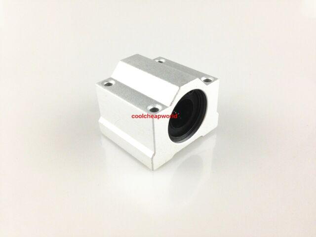 4pcs SC6UU SCS6UU 6mm Linear Ball Bearing Linear Motion Bearing Slide For CNC