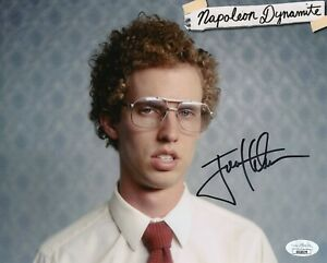 Jon-Heder-Autograph-Signed-8x10-Photo-Napoleon-Dynamite-JSA-COA