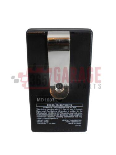 Linear Delta 3 DT-2A DNT00017A 2-channel Visor Gate or Garage Door Opener Transm