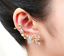 Fashion-Crystal-Clip-Ear-Cuff-Stud-Punk-Wrap-Cartilage-Earring-Women-039-s-Jewelry thumbnail 10