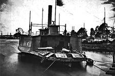New 5x7 Civil War Photo: Altered Ferryboat - Gunboat on the Pamunkey River