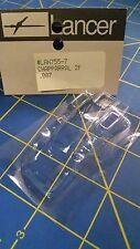 "Lancer 755-7 007"" Chapparral 2F Clear Lexan HO body slot car Mid America"