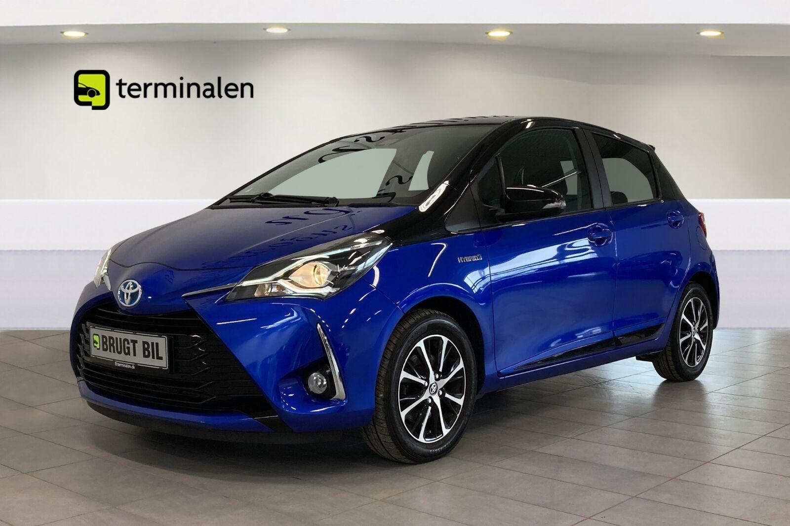 Toyota Yaris 1,5 Hybrid H3 Premium e-CVT 5d - 159.900 kr.
