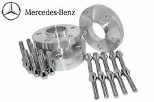 Complete Set 15mm Thick Mercedes Benz Hub Centric Wheel Spacers W/ Lug Bolts
