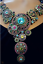 Heidi-Daus-Kaleidoscope-Crystal-Drop-Necklace-BIG-RARE-COLLECTOR-039-S-PC-SOLDOUT thumbnail 2