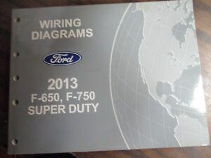 2013 FORD F-650-750 SUPER DUTY WIRING DIAGRAMS REPAIR ...