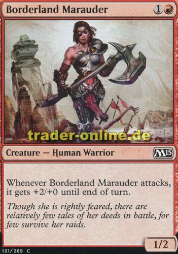 4x Borderland Marauder Magic 2015 M15 Magic Grenzland-Marodeurin