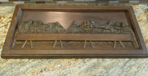 "Coppercraft Guild Leonardo Da Vinci's ""The Last Supper"" high relief 20.5"" x 10"""