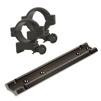 Remington 740, 742, 760, Scope Mount + Matte Black Weaver Style Rings